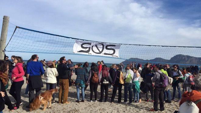 Reciente manifestación multitudinaria contra el proyecto