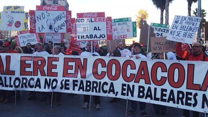 El Tribunal Supremo ratifica el ERE de Coca-Cola en Palma