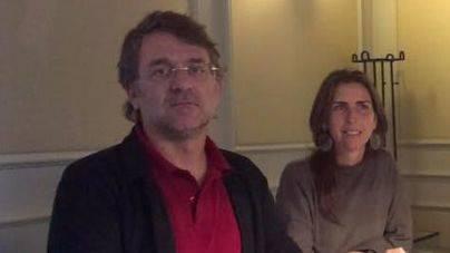 Los representantes del GOB, Macià Blázquez y Margalida Ramis