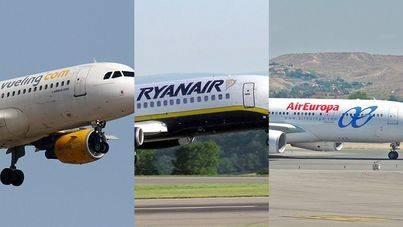 Air Europa, Ryanair y Vueling se quedan las rutas que deja Air Berlin