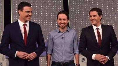 La primera reunión Ciudadanos/PSOE/Podemos se celebrará este jueves