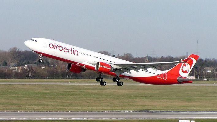 airberlin registró un 6,8% menos de pasajeros en el primer trimestre del año