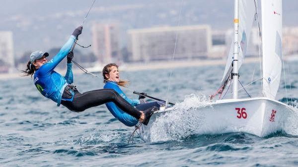 Mas y Barceló completan un gran primer día de regatas en el Club