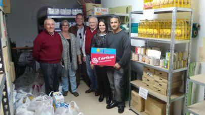 Andratx dona 250 kg de comida a Cáritas