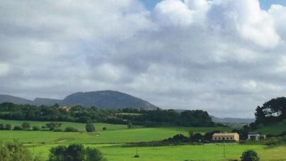 Posesión de Santa Cirga, en la que hay proyectado un parque fotovoltaico
