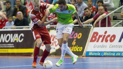Valioso empate del Palma Futsal en casa de El Pozo Murcia