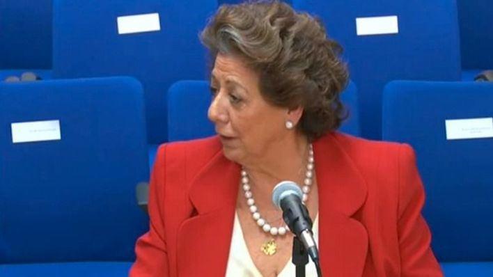 Rita Barberá niega que negociara los precios de Noos