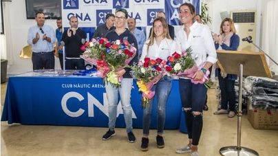 El Club Nàutic de s'Arenal entrega los premios a los mejores del Europeo 470