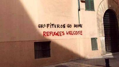 Sí a los guiris. No a los graffiteros