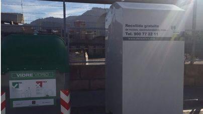 Andratx coloca 6 nuevos contenedores de recogida de ropa