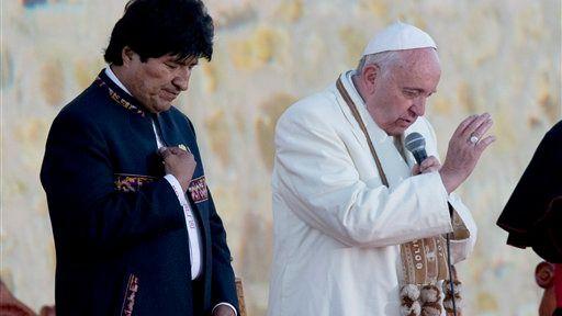 Morales recomienda al Papa que tome coca