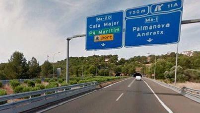 La Benemérita investiga si la conductora del accidente de Calvià cometió una imprudencia