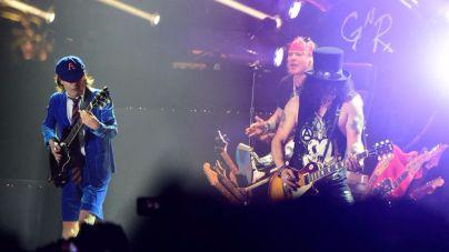Axl Rose ya es el nuevo cantante de AC/DC