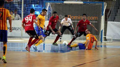 El Palma Futsal tumba al Barça Lassa in extremis