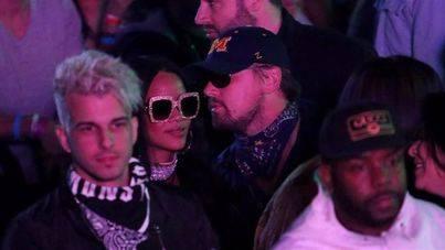 Leonardo DiCaprio y Rihanna juntos coqueteando en Coachella