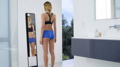 Un espejo inteligente escanea y detalla el estado de forma