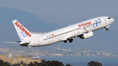 Air Europa volará a Málaga, Sevilla, Santiago, Oviedo, Salamanca, Valladolid, Oporto y Lisboa