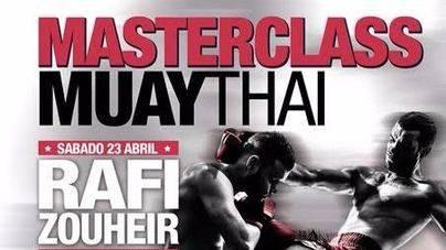 Dos campeones del mundo darán el sábado una master class de Muay Thai