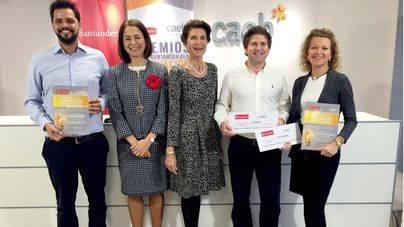 CAEB y Banco Santander premian a Air Europa y Enovam por su innovación