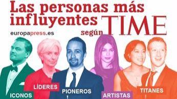 La revista 'Time' publica el nombre de las 100 personas más influyentes'