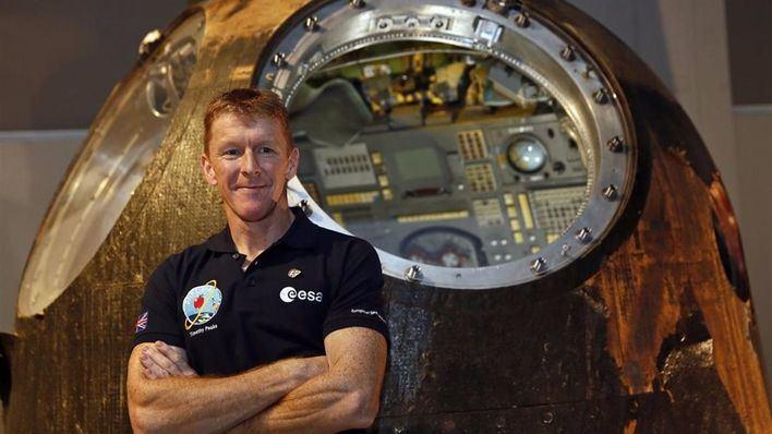 Imagen del astronauta Tim Peake