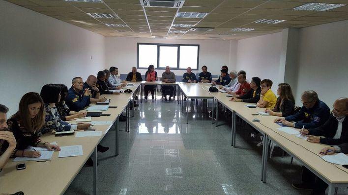 Imagen de la reunión informativa de este martes