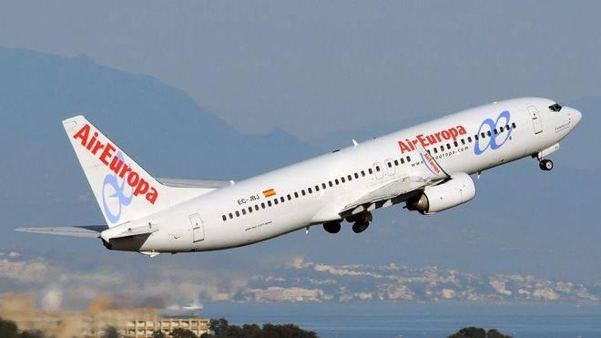 Air Europa aumenta un 8% su n�mero de pasajeros hasta marzo