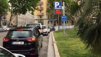 El éxito de la feria náutica colapsa los parkings del centro de Palma