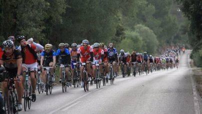 Imagen de la marcha cicloturista de Mallorca