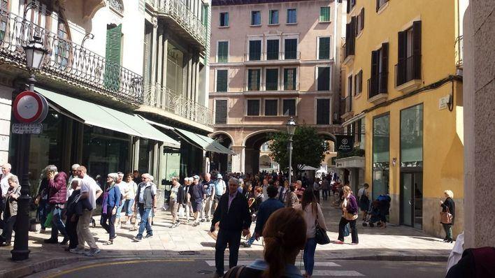 La llegada de turistas a Balears aumenta un 39% hasta marzo