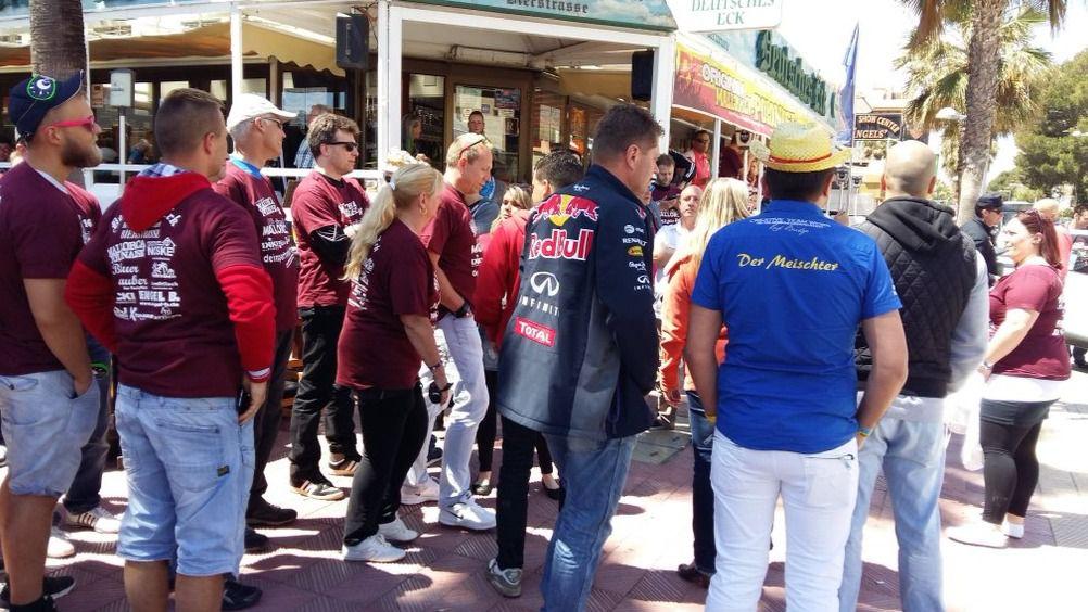 La presencia policial evita otra excursi�n et�lica por Platja de Palma