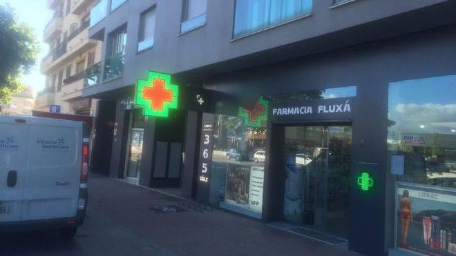 Farmacia de la calle Arag� de Palma
