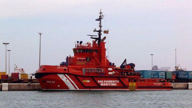 Salvamento Marítimo reactiva la búsqueda con avión del velero