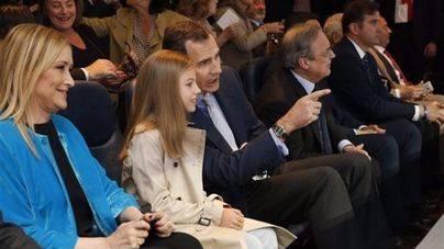 La Infanta Sofía 'debuta' en el Bernabéu