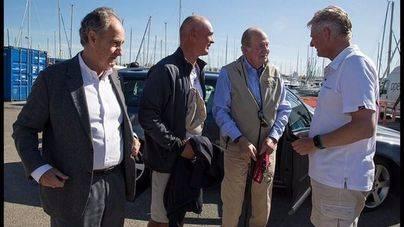 El rey Juan Carlos ha vuelto a Mallorca