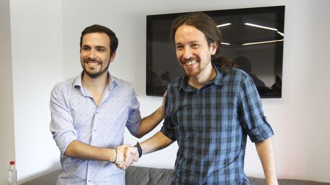 El 85% de las bases de IU apoya el pacto con Podemos
