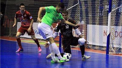 El Palma Futsal se cae en el último suspiro