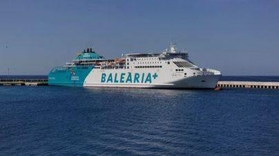 Baleària ofrece más de 30.000 plazas a Ciutadella por Sant Joan