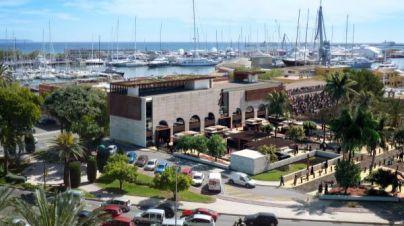 Recreación 3D del proyecto de Mercat des Port