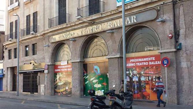 Fachada del Gran Casino Teatro Balear