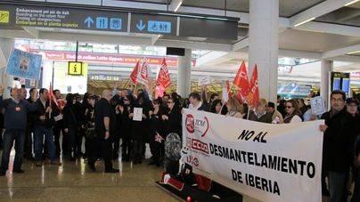 Imagen de archivo de una protesta en Son Sant Joan