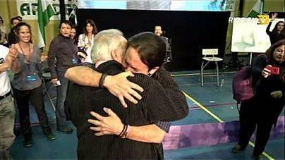 Las lágrimas de Pablo Iglesias ante Anguita