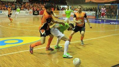 El Palma Futsal tropieza en Tudela y tendrá que remontar