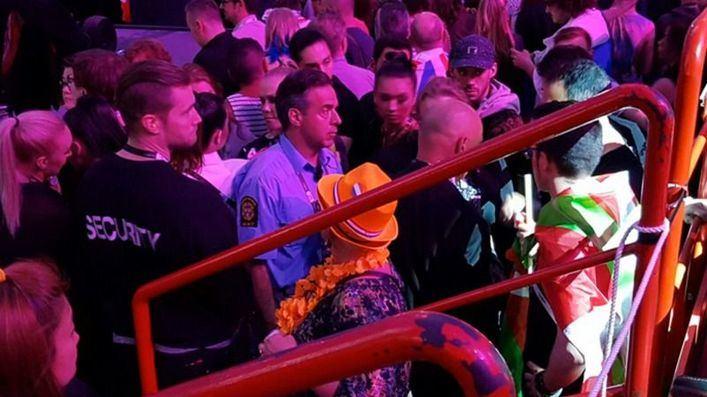 España reclama ante Eurovisión por la retirada de una ikurriña