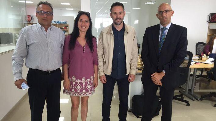 La cúpula de la Associació de Periodistes visita mallorcadiario.com
