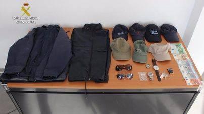 La Guardia Civil detiene a un hombre por 15 robos con fuerza en Camp de Mar
