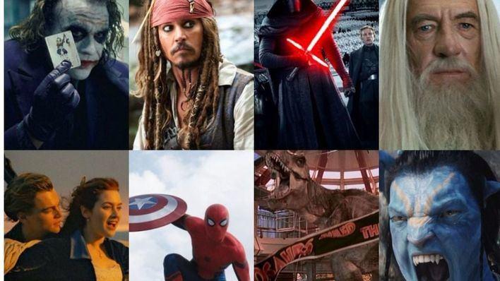 Imagen promocional de las películas más rentables