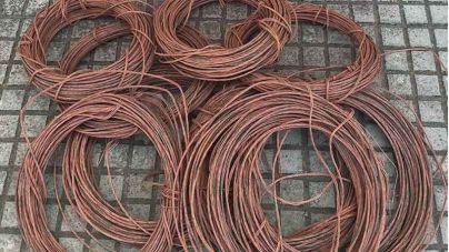 Detenido por el robo de 800 metros de cable de cobre en Felanitx