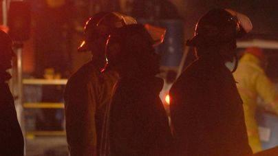 Un incendio calcina tres vehículos en el Port de Sóller