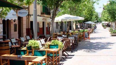 Cort prohíbe nuevas terrazas en Santa Catalina y Blanquerna